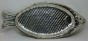 Vintage-Reed-amp-Barton-Silverplate-Salmon-Fish-Tray-100-In-Great-condition