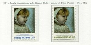 19103-UNITED-NATIONS-New-York-1971-MNH-Nuovi-Picasso