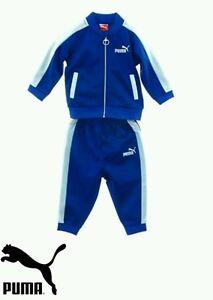 9ba78d0b0dd3 boys puma infant baby tracksuit Baby set Sizes 12 - 24M Red Or Blue ...