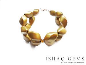 Bohemian-Style-Gold-Beaded-Sparkling-Crystal-Choker-Bracelet-Womens-Gift-For-Her