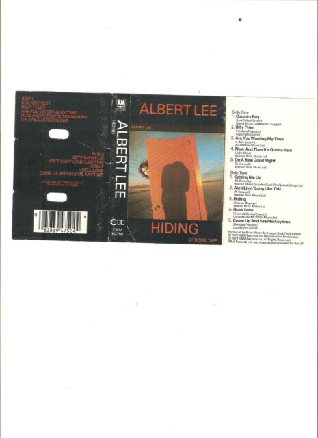 Albert Lee - Hiding CASSETTE