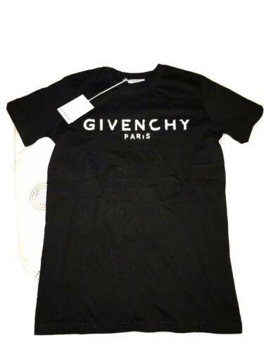 Givenchy T-Shirt Small Mens Black & Red BNWT