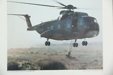 WAR AIR FORCE TRANSPORT HELICOPTER CHOPPER CAMP BASTION HELMAND PRINT BB3317A