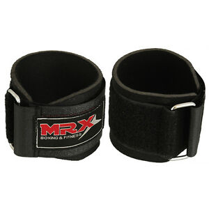 Weight-Lifting-Wrist-Support-Bandage-Gym-Training-Straps-With-Velcro-Locking-BLK