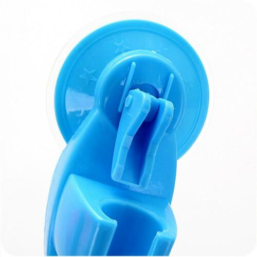 Home Hot New Bathroom Vacuum Shower Head Holder Suction Up  Wall Mount
