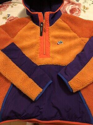 nike 1/2 sherpa hoodie