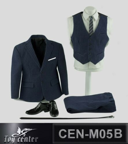 "Toy center 1//6 CEN-M05B Gentleman Clothes Suit F 12/"" Male Strong Body"
