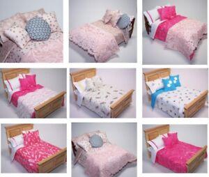 Dolls-House-Bedding-Set-1-12-Handmade-Double-Bed-size-Group-6-NEW-Patt-28-6-19
