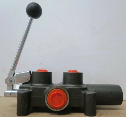Hydraulic Log Splitter Lever Control Valve Auto Kick Out made in Europe.