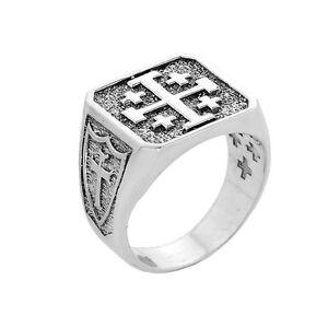 Medieval Star Of Jerusalem Ring