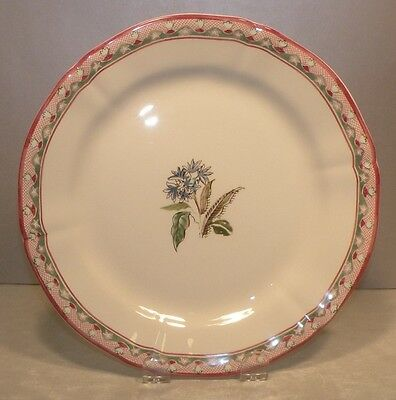 NEW Dessert Plate - Blue Flowers, Jardin Imaginaire Pattern  GIEN