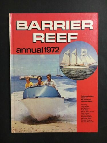 BARRIER REEF T.V ANNUAL FROM AUSTRALIAN T.V SHOW FROM 1972