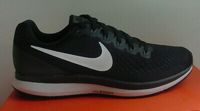 Nike Men's Shoes Black Whte Air Zoom Pegasus 34 Running 880555 001 Sz 10 11 NIB | eBay