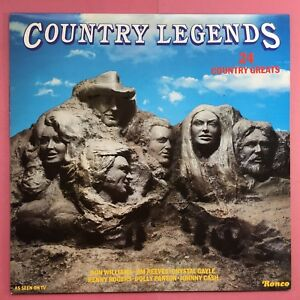 Country-Legends-24-Country-Greats-Ronco-RTL-2050-Ex-Condizioni