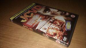 JCVD-RARE-OOP-2-Disc-Double-Van-Dammage-UK-DVD-Jean-Claude-Van-Damme