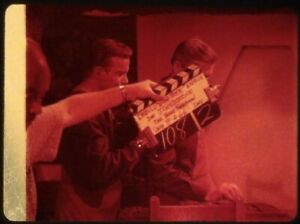Star-Trek-TOS-35mm-Film-Clip-Slide-What-Are-Little-Girls-Made-Clapper-Board-Kirk