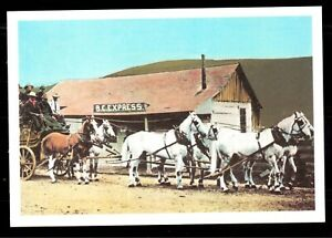 CANADA-1974-STATIONERY-FIRST-DAY-ISSUE-POSTCARD-CARIBOU-STAGE-CLINTON-BC