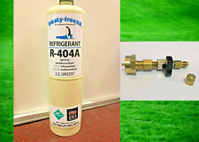 R404a R 404 Refrigerant R 404a Coolers Freezers Disposable 20 Oz Can Valve