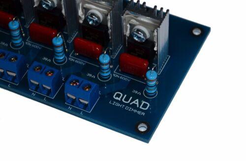 AC 4CH DEL Light Dimmer Module V2 Leading Edge Arduino Framboise Smart Home