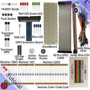 Basic Raspberry Pi Starter Kit For Rpi 3 2 Model B B Python C Java