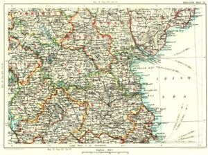 Map Of Ireland Cavan.Details About Ireland Fermanagh Armagh Monaghan Leitrim Cavan Longford W Meath Dublin 1893 Map