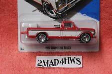 Hot Wheels SAM WALTON'S 1979 Ford F-150 Truck WHITE PANEL real riders WALMART