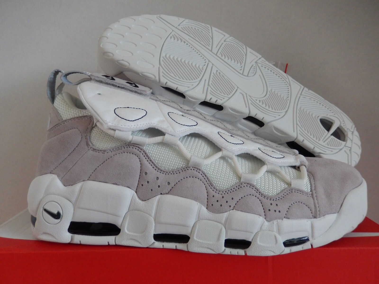 NIKE AIR MORE MONEY AS QS  ALL STAR UPTEMPO VAST GREY-WHITE SZ 12.5 [AQ0112-001]