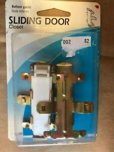 Slide-Co-16557-Closet-Door-Guide-Bottom-Mount-Snap-In-Pack-of-2