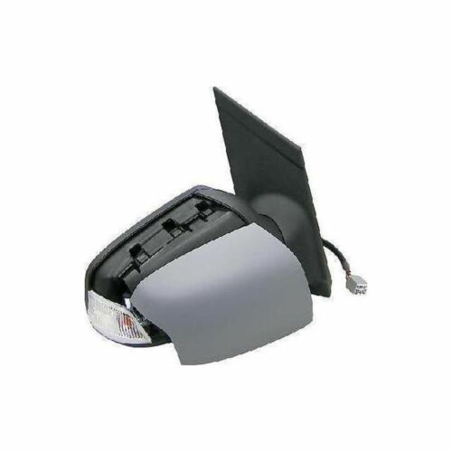 Right OS Offside Drivers Primed Electric Heated Indicator Door Wing Mirror Unit