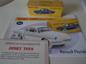Atlas Dinky Toys DeAgostini RENAULT FLORIDE bronze pneus noirs réf 543