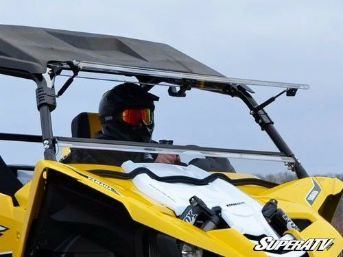 Super Atv Yamaha Yxz1000r Scratch Resistant Flip Windshield For Sale Online Ebay