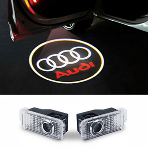 audi logo led t rlicht t rbeleuchtung a4 b5 b6 b7 b8 a6 4f. Black Bedroom Furniture Sets. Home Design Ideas