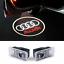 Audi-logotipo-LED-turlicht-turbeleuchtung-a4-b5-b6-b7-b8-a6-4f-4g-q5-q7-1999-2016 miniatura 1