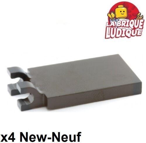 LEGO Bau- & Konstruktionsspielzeug 4x Fliese geändert 2x3 2 U Haken trappe trap schwarz/schwarz 30350c neu Lego LEGO Bausteine & Bauzubehör