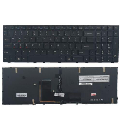 New Backlit Keyboard for Clevo P650SG P651SG P650SE P651SE P655SE  Without Frame