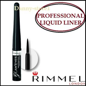 Rimmel-GLAM-039-OCCHI-PROFESSIONALE-LIQUIDO-EYELINER-001-Glamour-Nero-3-5-ML