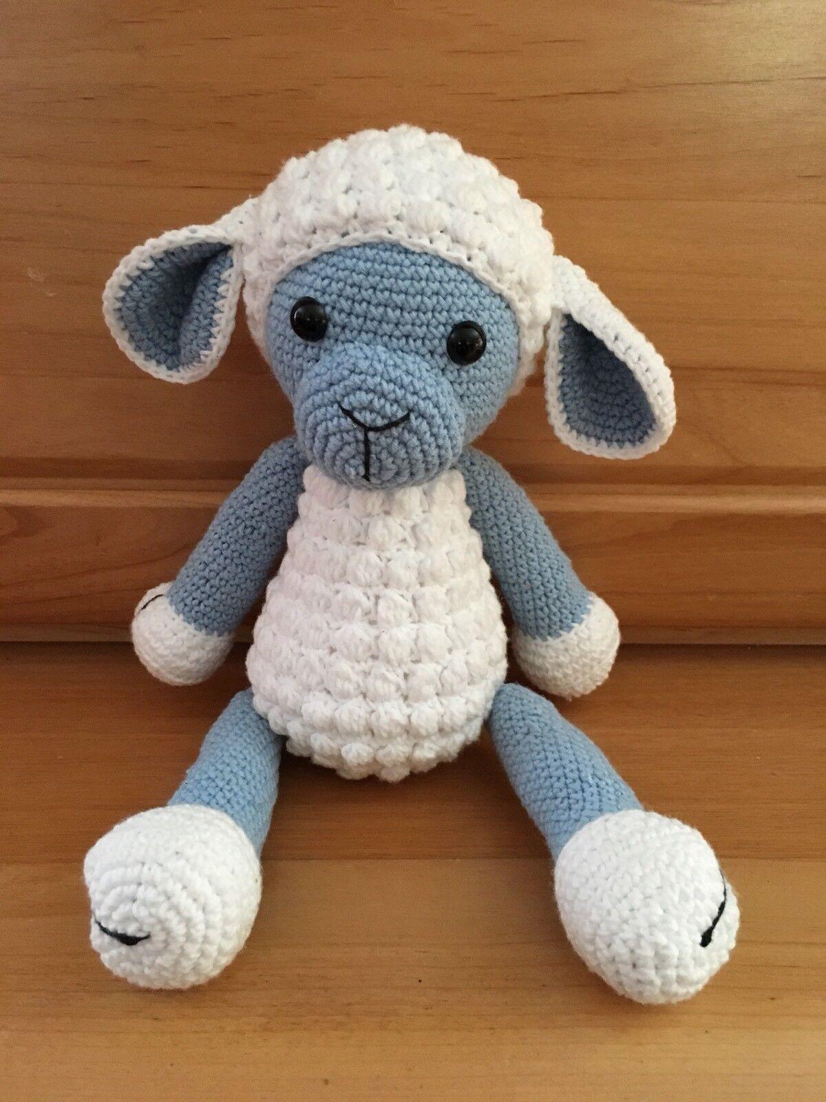 Doudou Mouton Fait Main Au Crochet