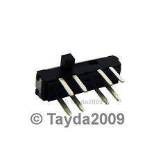 5 x MINI SLIDE SWITCH 0.3A 6V DC 2P3T
