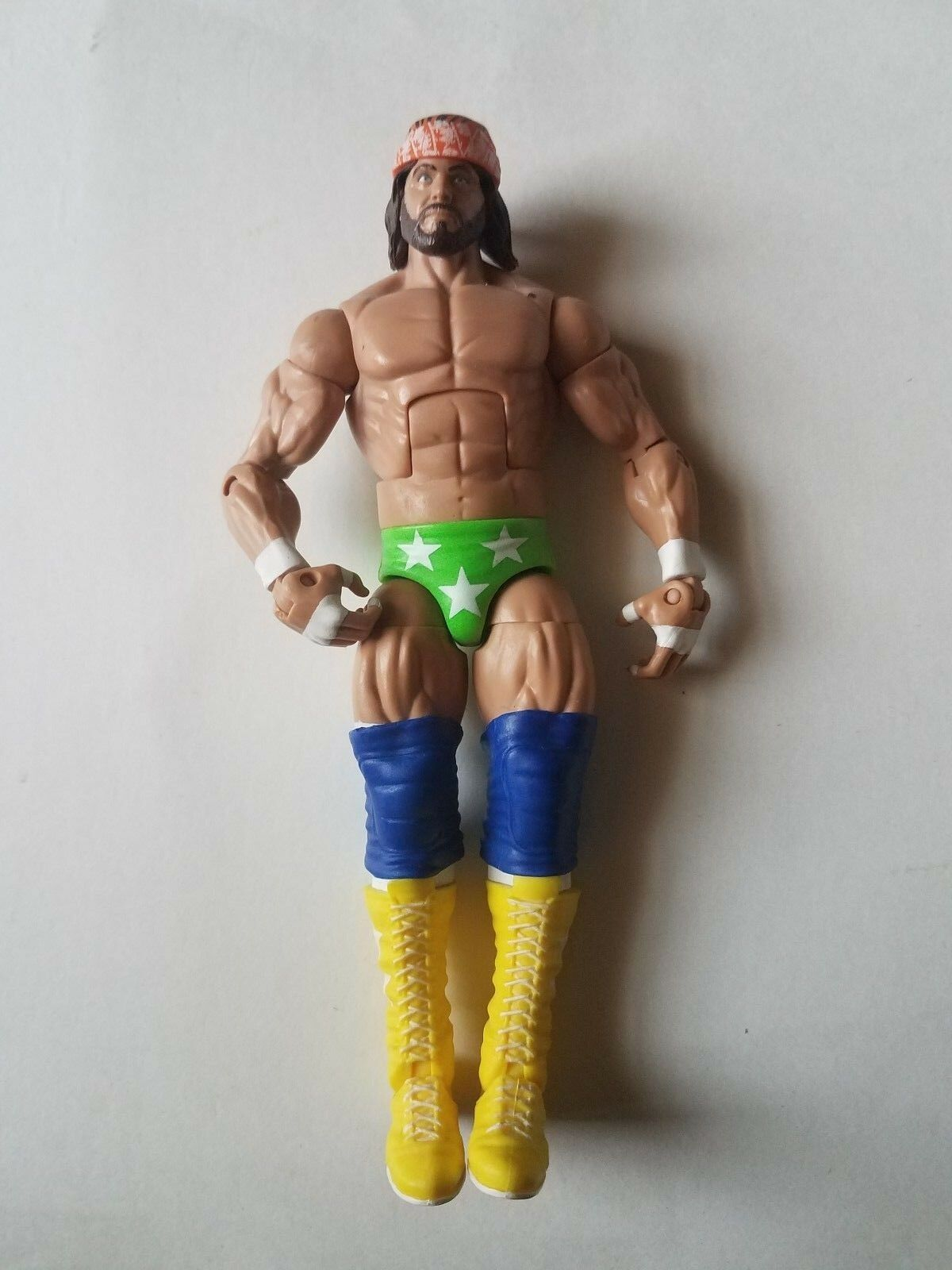 Randy Randy Randy Savage WWE Mattel Elite All Stars Wrestling Figure Macho Man E4 47533a