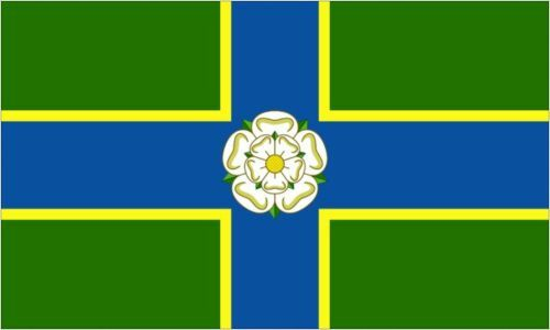 North Riding of Yorkshire England Flag Sticker Sheet