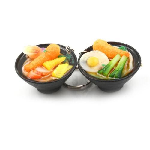 Ramen Lanyard  Design Simulation Food Keychain Noodles Vegetables Kids T LA