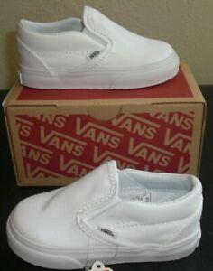 Vans Classic Slip-On White Toddlers