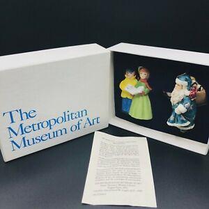 Vintage-Christmas-Ornaments-Metropolitan-Museum-of-Art-Vintage-1992-New-In-Box