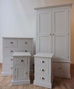 image is loading new handmade solid pine painted bedroom set bedroom - Painted Bedroom Furniture
