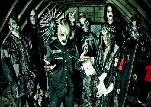 Slipknot 24 American Heavy Metal Band Poster Corey Taylor Scary Creepy Photo