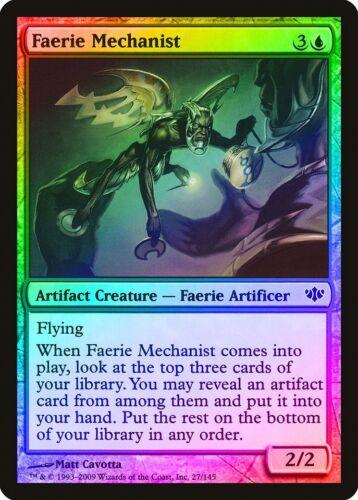 Faerie Mechanist FOIL Conflux NM Artifact Blue Common MAGIC MTG CARD ABUGames