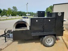 Mobile Pizza Oven Bbq Sink Trailer You Order Oven Sink Set Food Truck Catering