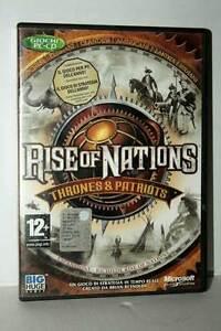 RISE-OF-NATIONS-THRONES-amp-PATRIOTS-USATO-BUONO-PC-CDROM-VER-ITALIANA-GD1-43230
