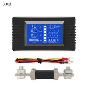 Dc-Voltaje-Multimetro-Bateria-Probador-Monitor-Corriente-Poder-Capacidad-Medida