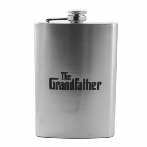8oz The Grandfather Flask L1